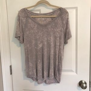 forever 21 pink tie-dye T-shirt